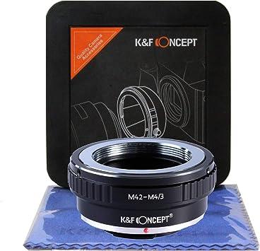 Fotga M42-M4//3 Adapter Ring for M42 Lens to Micro 4//3 Mount Camera DSLR Camera