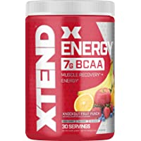 Deals on XTEND Energy BCAA Powder Knockout Fruit Punch