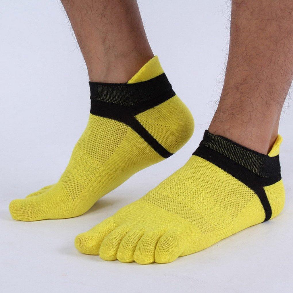 Panegy/ /Calzini con dita/ /dita del piede separati/ /Cotone/ /Colore disponibile /Lotto di 6/paia di calze a motivo per uomo/