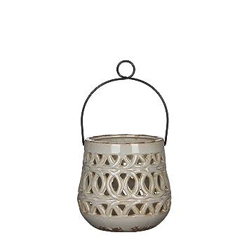 Mica Decorations 1006261 Lantern Beige Amazon Co Uk Garden Outdoors