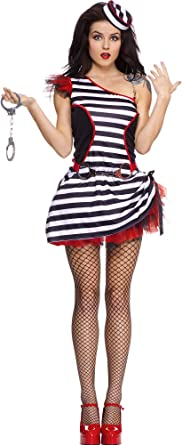 Adulte JAIL HOUSE Hottie Costume-MUSIC LEGS 70509