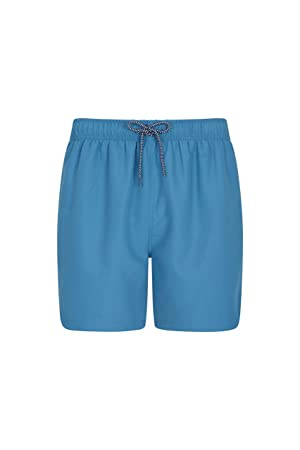 d7256609a2 Mountain Warehouse Aruba Mens Swim Shorts - Fast Dry Swimming Trunks,  Lightweight Board Shorts,