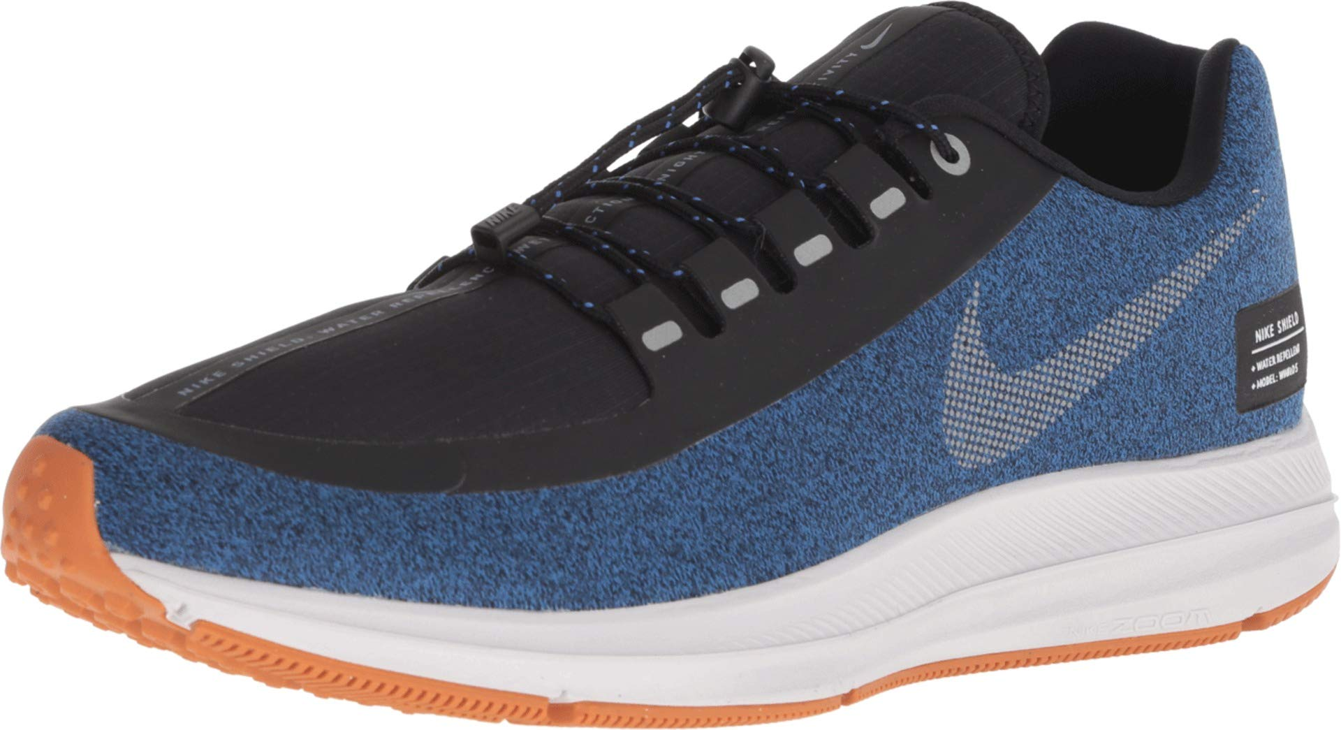 Nike Men's Air Zoom Winflo 5 Shield Running Shoes (10, Silver) by Nike