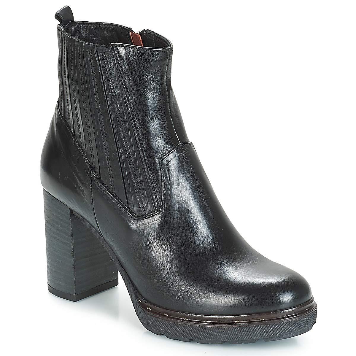 Dream in Grün JERYCABE Stiefelletten Stiefel Damen Schwarz Low Stiefel  | Genial Und Praktisch