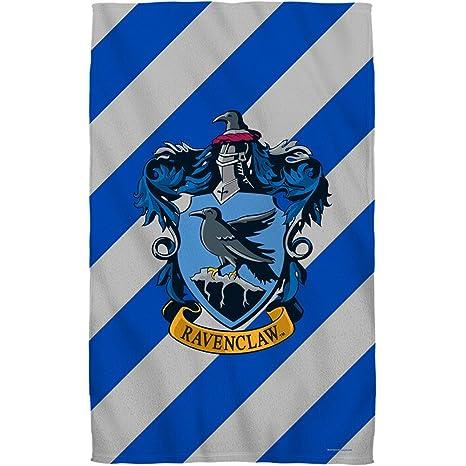 Harry Potter Ravenclaw Crest toalla de playa (playa blanca 36 x 58