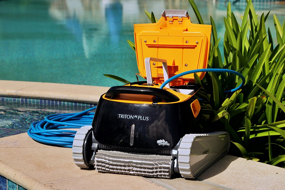 Dolphin Triton Plus Robotic Pool Cleaner