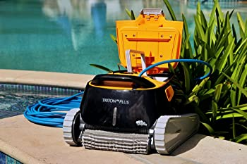 Dolphin Triton PS + Automatic Bluetooth Swimming Pool Cleaner
