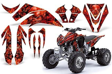 amazon com creatorx kawasaki kfx 450 graphics kit decals stickers Honda 450 ATV image unavailable