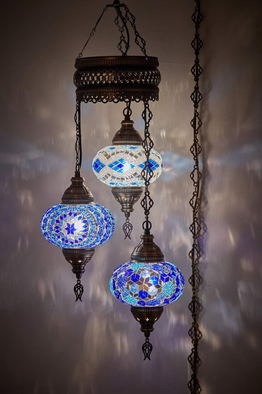 Amazon.com: Demmex 2019 Mosaico turco marroquí de cable duro ...