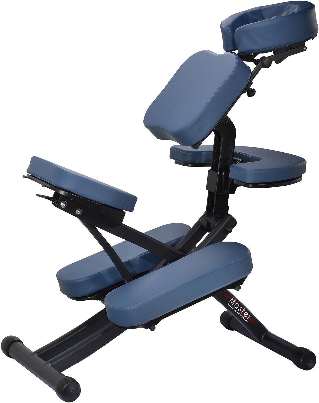 Master Massage Rio Portable Massage Chair – Royal Blue