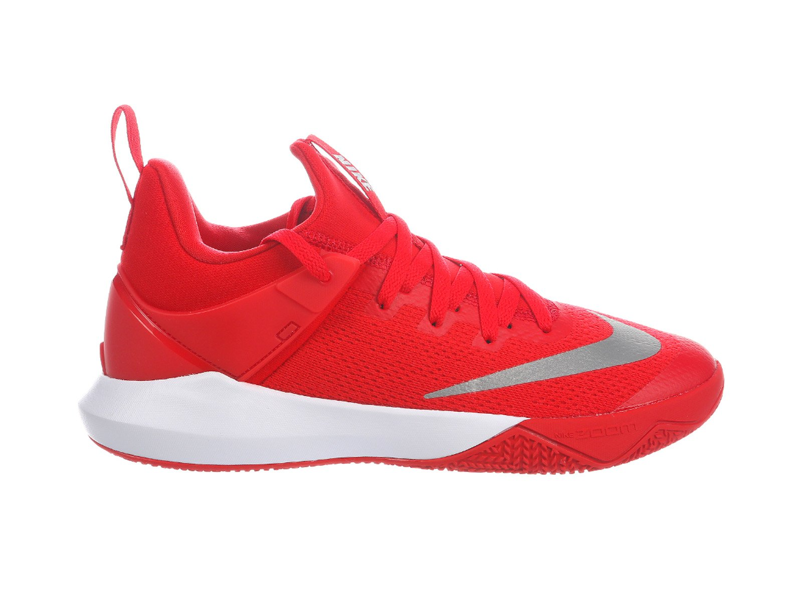 257effc4cae Galleon - NIKE Men s Zoom Shift University Red White Nylon Basketball Shoes  17 D(M) US