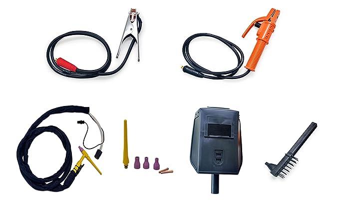 Soldador Inverter Multiproceso TIG MMA 200AMP con Arranque de Alta Frecuencia Electrodo Hasta 5.0M: Amazon.es: Bricolaje y herramientas