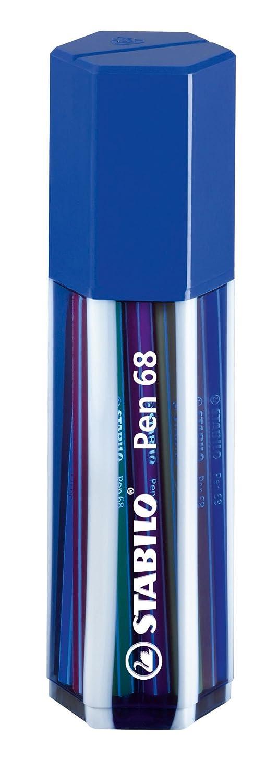 Premium-Filzstift - STABILO Pen 68 - ColorParade - 20er Pack - mit 20 verschiedenen Farben 6820-04