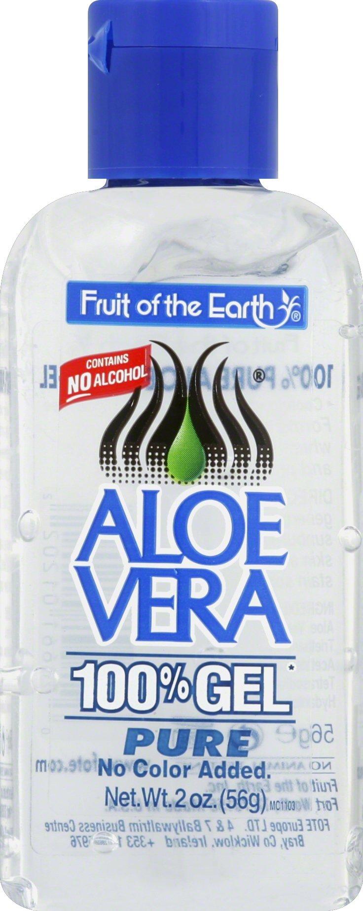 Fruit Of The Earth 100% Aloevera 2 oz. Gel