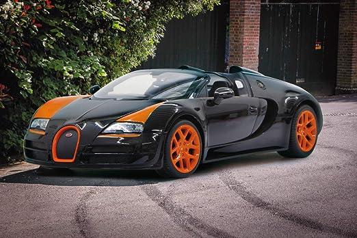 Nero Bugatti Grand Sport Vitesse Jamara 404551 40MHz 1:24