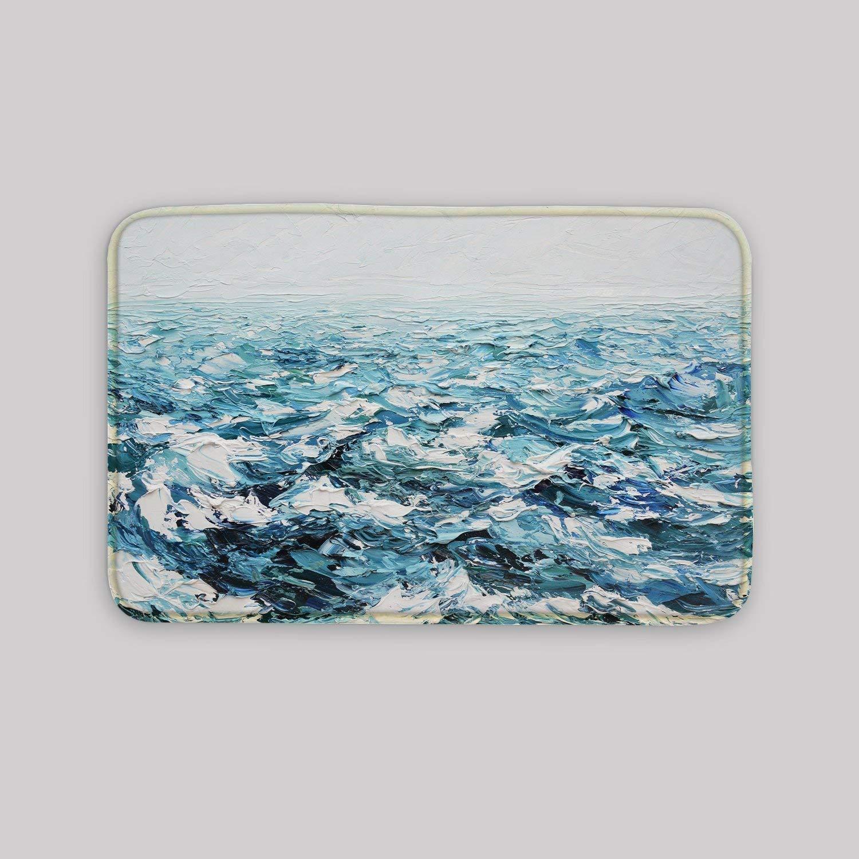 Amazon.com: Sea Storm Door Mat Welcome Mat Personalized Gift Mat ...