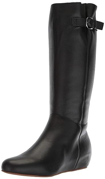 e32dd2cd421c Blondo Women s Monica Knee High Boot Black Leather 6 ...