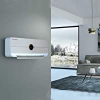 Calefactor Aire Caliente de Pared Easy2020 Plata ·