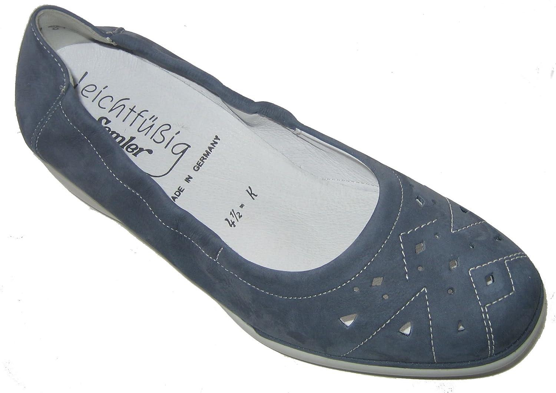 Semler N5015-040-075 Natascha Damen Slipper Leder Weite K Groesse UK 4 ( EU  37 ): Amazon.de: Schuhe & Handtaschen