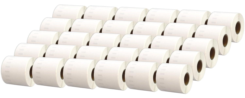Printing Saver 89 10x 11356 89 Saver x 41 mm Rollos de Etiquetas Adhesivas (300 Etiquetas por Rollo) compatibles para Dymo LabelWriter 310 320 330 4XL 400 450 Turbo/Twin Turbo/Duo & Seiko SLP Impresoras f3d296