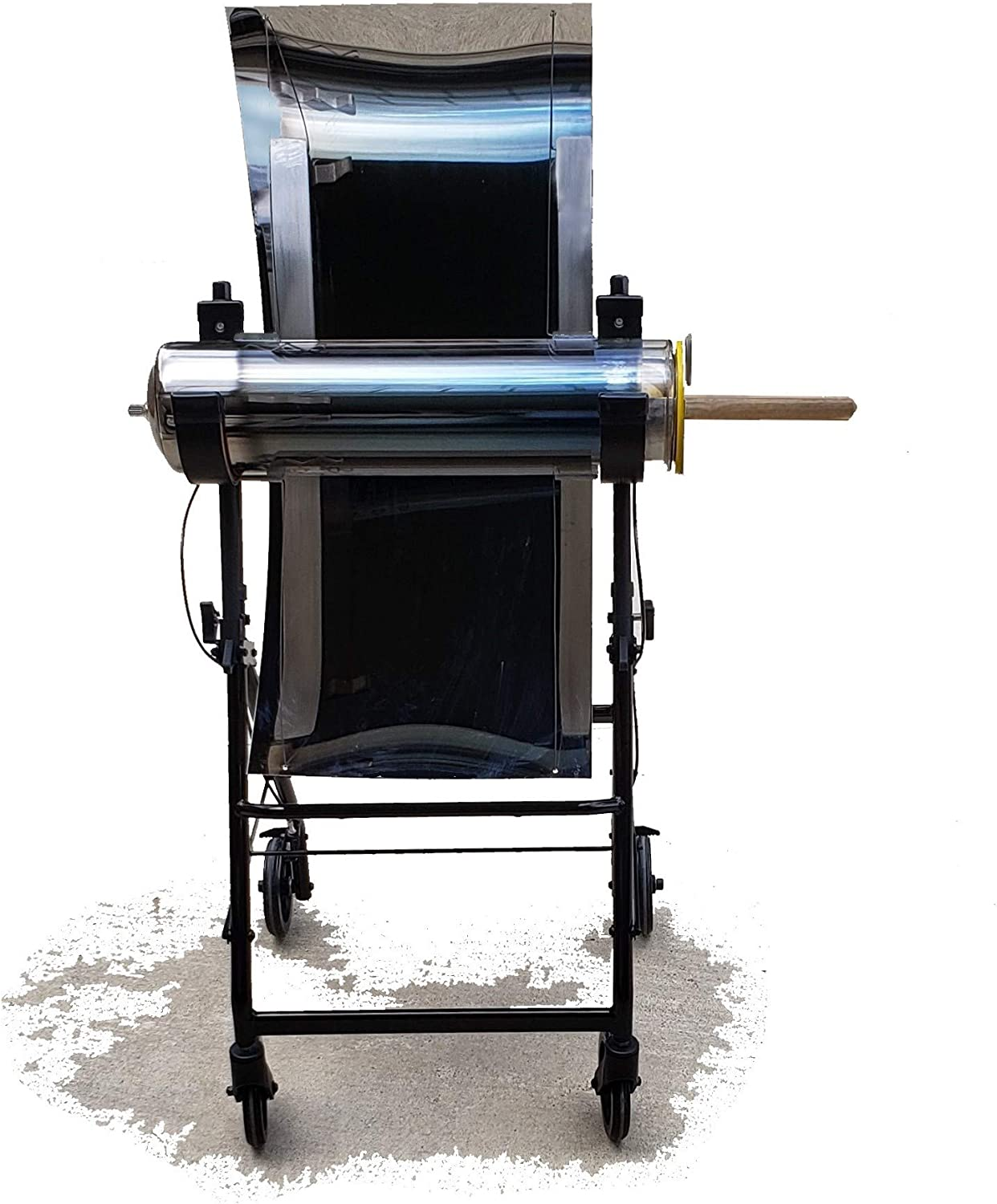 GRAFXSOLAR Solar Oven, The Largest & Hottest Evacuated Solar Oven! Over 500°F