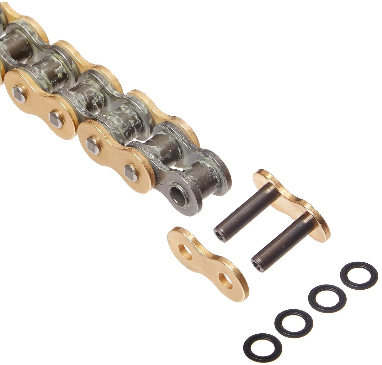 DID 530VXGB-108 ゴールドXリングチェーン 接続リンク付き   B006O863SK