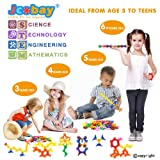 Jcobay Puzzles for Kids, Interlocking Building