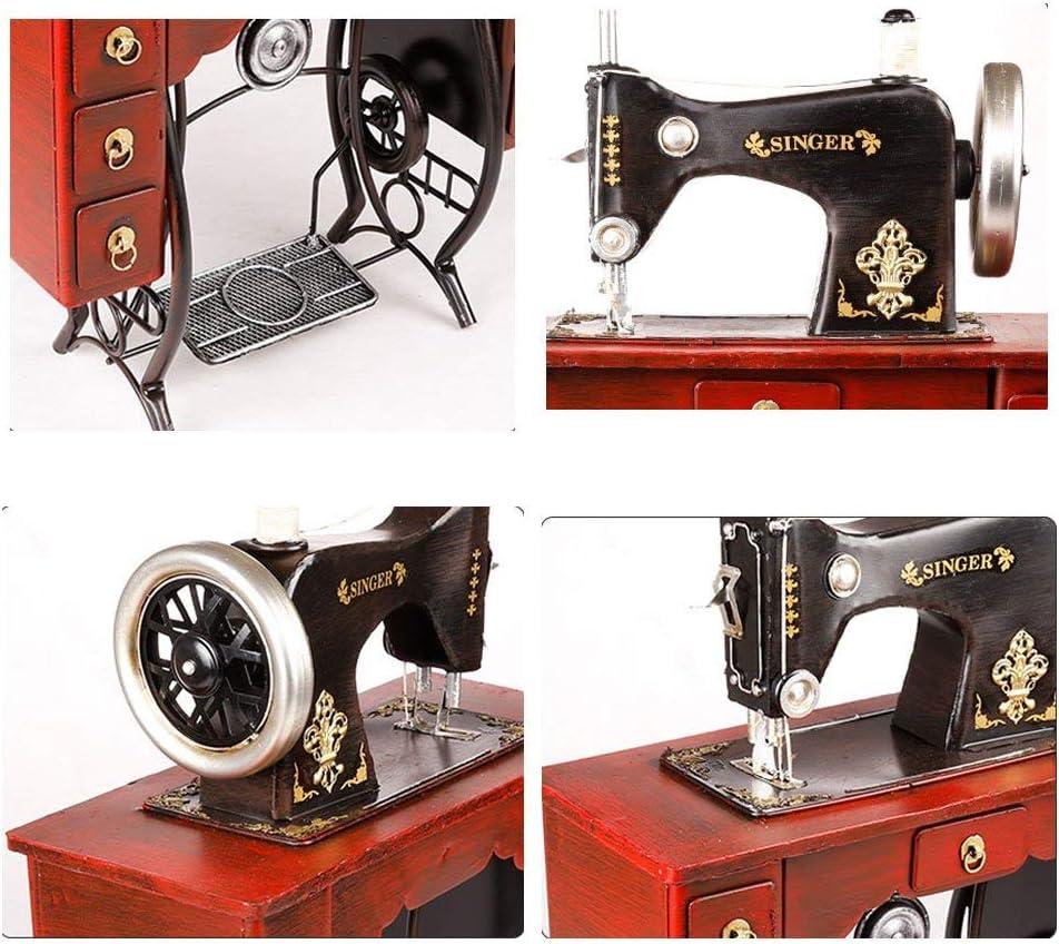 HEYJIE Caja de música máquina de Coser Modelo Vintage Retro ...
