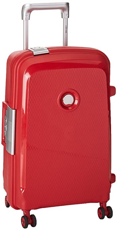 Delsey Paris Belfort Plus Maleta, Rojo (Rouge), 45 cm/06 liters
