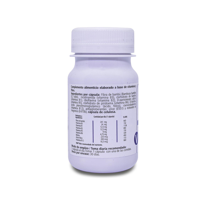 H4U Complejo Vitamínico B 30 cápsulas de 400 mg: Amazon.es ...