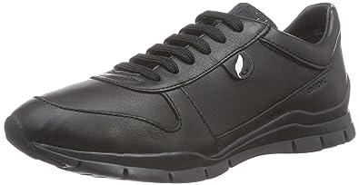 D Sukie B, Damen Sneakers, Beige (C1018DOVE Grey), 35 EU Geox