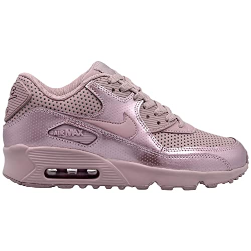 buy online a0830 c790a Nike Youth Air Max 90 SE LTR GS Leather Elemental Rose Trainers 6 UK   Amazon.co.uk  Shoes   Bags