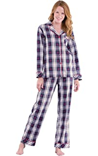90b278b6d0d7 PajamaGram Womens Pajama Sets Flannel - Cozy Ladies Pajamas at ...