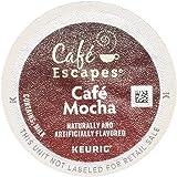 Café Escapes Café Mocha, K-Cup Portion Pack for Keurig Brewers, 24-Count
