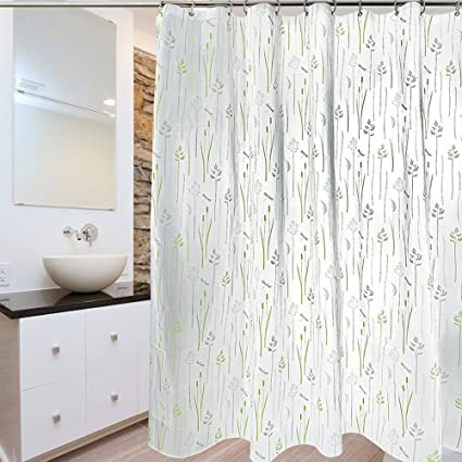 Ordinaire Zeafeel PEVA Wheat Green Grass Pattern Thick Shower Curtain, 72 X 72 Inch  Wildlife