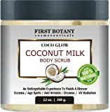 Amazon Price History for:100% Natural Coconut Milk Body Polish 12 oz. With Dead Sea Salt and Vitamin E. Powerful Body Scrub Exfoliator and Daily Moisturizer For All Skin Types