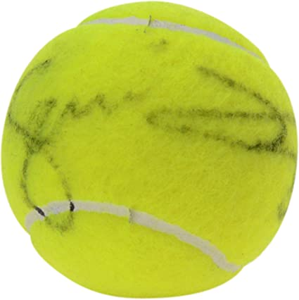Serena Williams Autographed US Open Logo Tennis Ball Fanatics Authentic Certified Autographed Tennis Balls