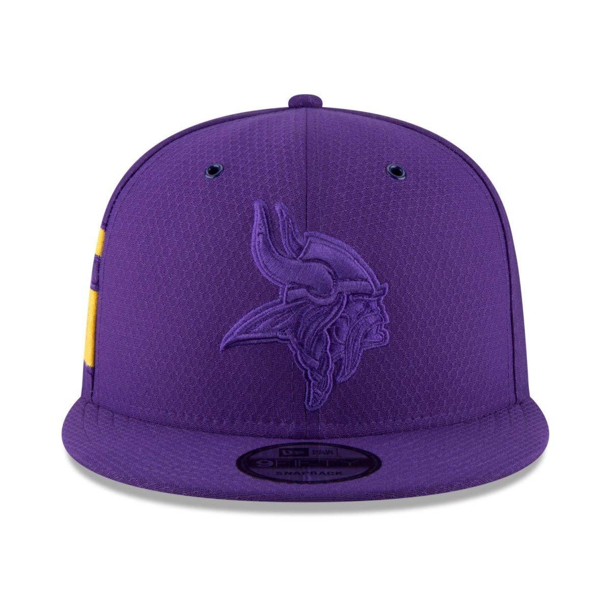 COLOR RUSH Minnesota Vikings New Era 9Fifty Snapback Cap