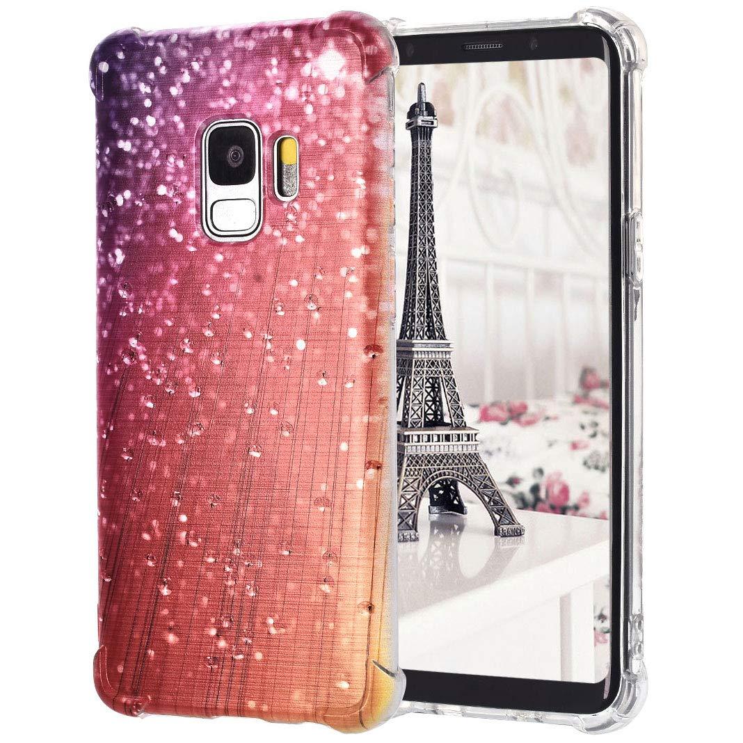 Custodia in TPU per Coque pour Samsung Galaxy S9,Stile di stampa dipinta Antigraffio Impermeabile Antiurto Leggero Paraurti in silicone trasparente Protettore per Coque pour Samsung Galaxy S9, Stile 8