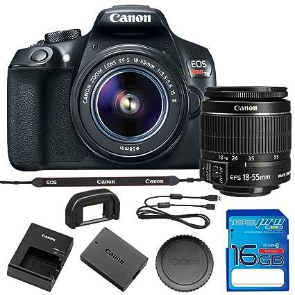 Canon EOS Rebel T6 - Cámara réflex Digital con Lente EF-S 18-55 mm ...