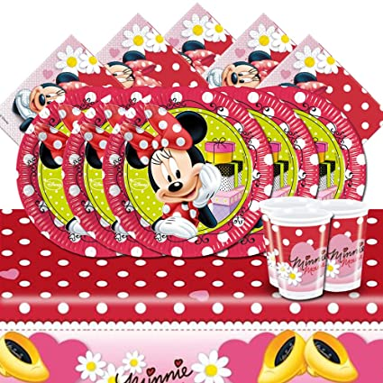 Amazon.com: Disney Minnie Mouse Polka Dots Fiesta de ...