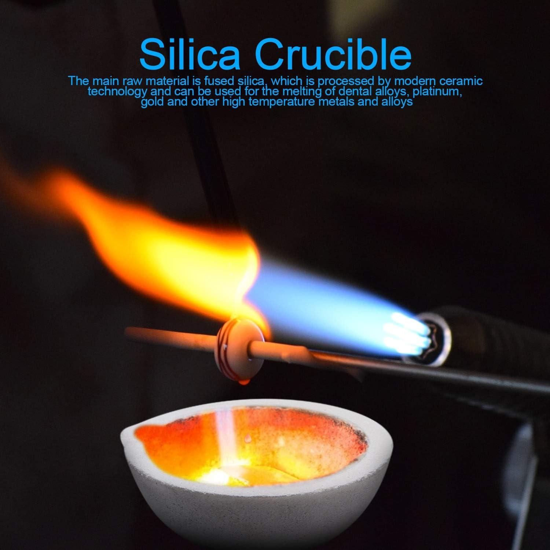 Outil de moulage de raffinage des m/étaux Creuset en graphite de haute puret/é Crucible bol et moule combo pince