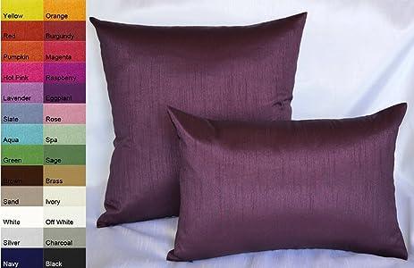 Amazon Creative Solid Decorative Pillow Cover Throw Pillow