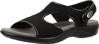 product image for SAS Women's Harmony Sandal Black Leather (7 (B) M, Black)