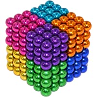 Elsatsang Cubo Classic,Puzzle classico 3D,216 palline magnetiche 8