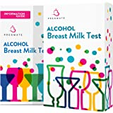 PREGMATE 25 Alcohol Breastmilk Test Strips Breastfeeding Breast Milk Test (25 Pack)