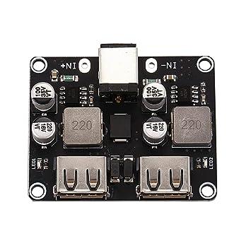 TOOGOO 2 Canales USB Qc3.0 Qc2.0 DC-DC Convertidor de ...