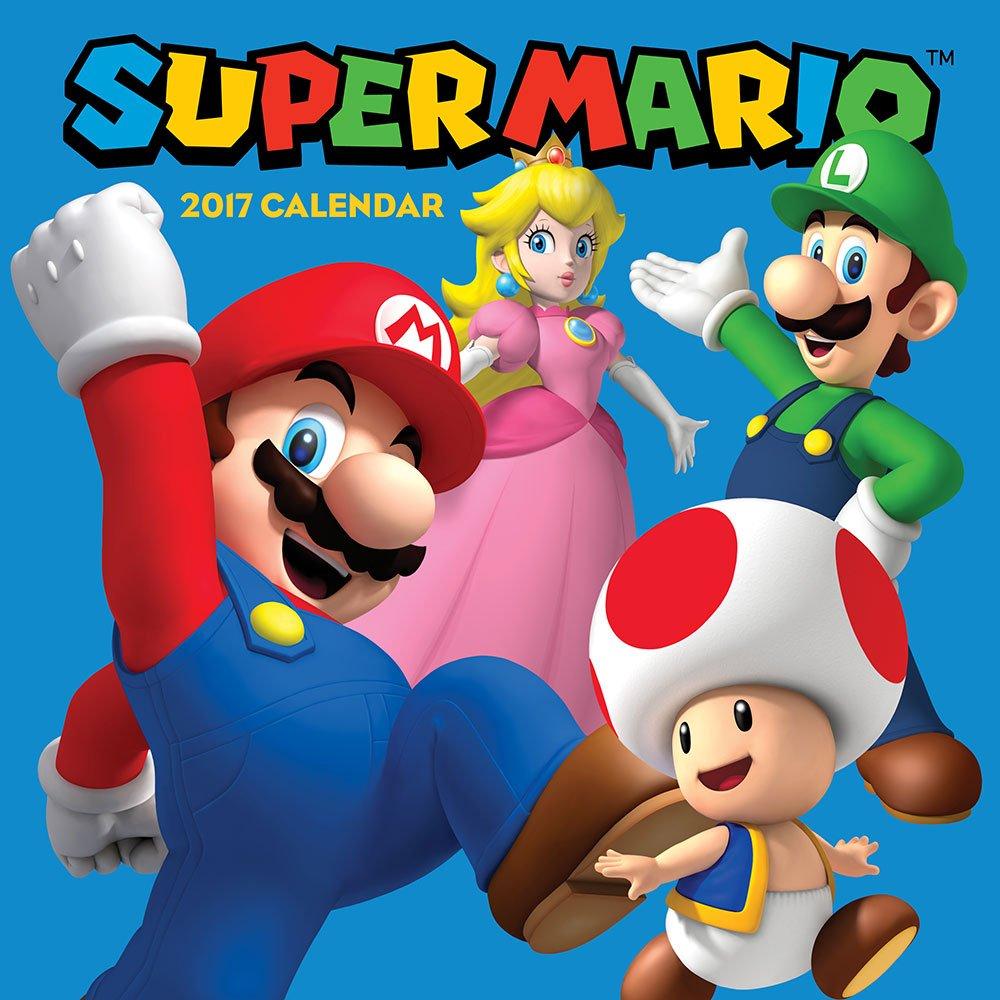 Super Mario 2017 Wall Calendar