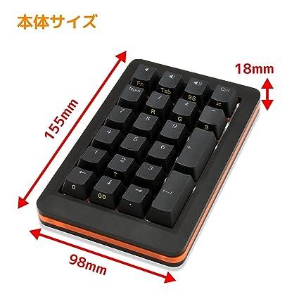 Mistel Francobordo teclado numberpad RGB Cherry MX Switches: Amazon.es: Electrónica