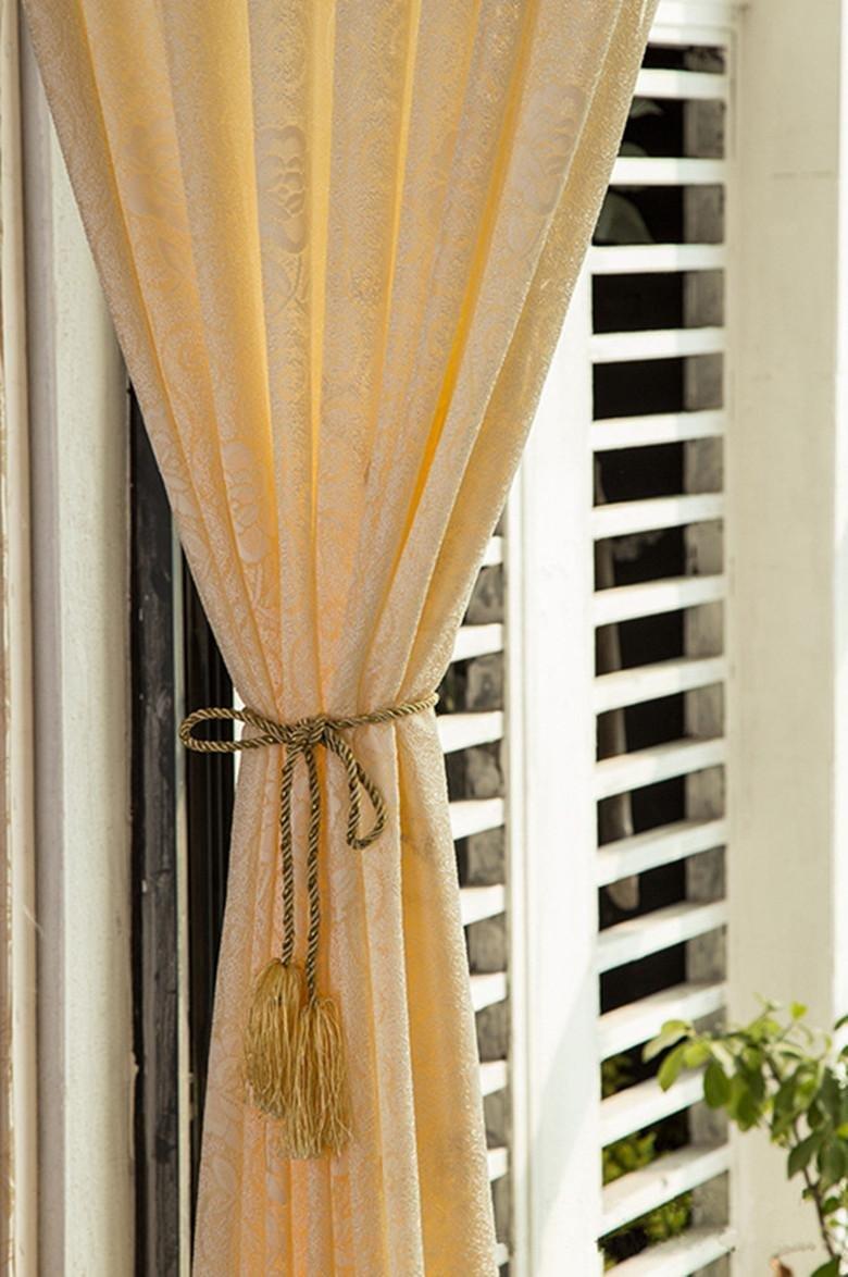 Luxus Rose Vorhänge für Wohnzimmer Schlafzimmer Küche Fenster ...